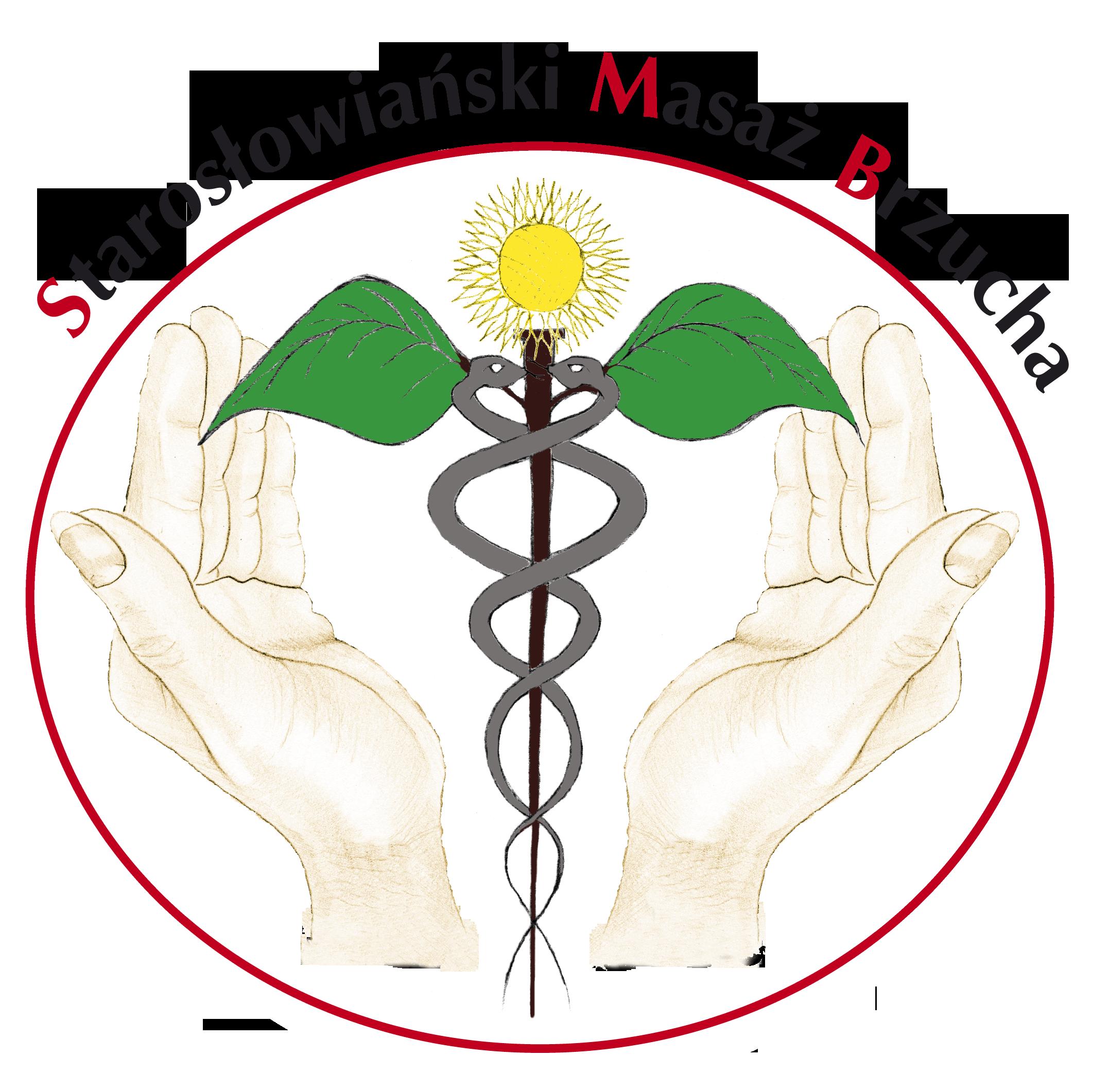 Starosłowiański masaż brzucha logo